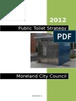 Public Toilet Strategy