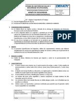 CEB PO02 Rev00 EspecificacionesEPP Arnes
