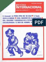 Revista Internacional - Nuestra Epoca N°7 - Edición Chilena - Julio 1981