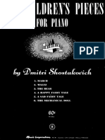 Dmitri Shostakovich- 6 Children's pieces.pdf