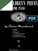 Dmitri Shostakovich- 6 Children's pieces.pdf