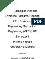 Industrial Engineering and Enterprise Resource Planning - 2011 December (1)