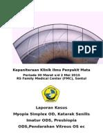 Laporan Kasus retinopati hipertensi