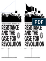 SWSS Resistance and the Case for Revolution