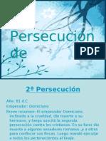 Persecución domiciano