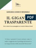 Il gigante trasparente. Echi e visioni di una passeggiata nel mondo di Adriano Olivetti - Estratto