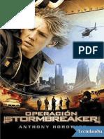 Operacion Stormbreaker - Anthony Horowitz