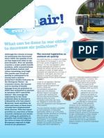 Clean Air Brochure