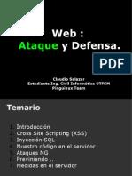 Web Ataque y Defensa 112007