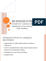 Business Ethics of Lehman Brothers ppt.pptx