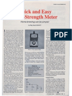 QUICK AND EASY FIELD STRENGH METER