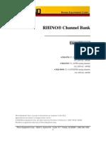 Rhino CB24 Manual