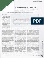 Qualificação de Processos Térmicos