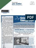 Cutler Spring 2010 Newsletter