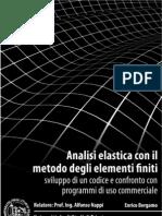 Analisi elastica con il metodo degli elementi finiti