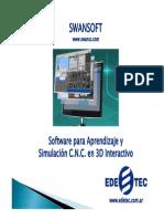 Simulador Swansoft CNC