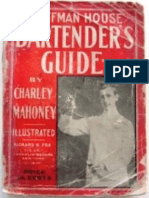 Hoffman House Bartender's Guide - Charles S Mahoney 1912