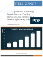 Programmatic Advertising Jul2014