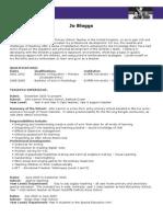 CV Example 2014.doc