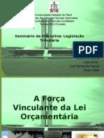A Força Vinculante Da Lei Orçamentária Versão 2