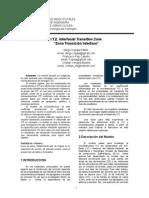Copaja. Paper ITZ. Zona Transición Interfase