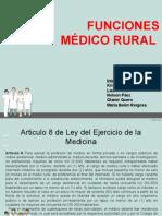 Funciones Del Medico
