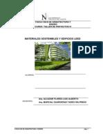 Terrenos sostenibles y analisis de edificios ledd
