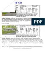 February 2010 Lake Monticello Real Estate Sales Analysis