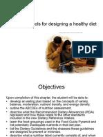 Designing a Healthy Diet