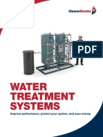 CB-8490 Water Treatment Brochure