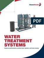 CB-8490 Water Treatment Brochure