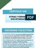 Cap. 8 Otras Formas Societarias