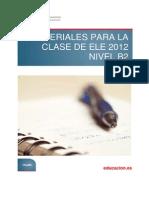 Materiales Para La Clase de ELE 2012 Nivel B2