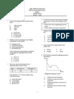 Soalan UKK1 Form 4 2015