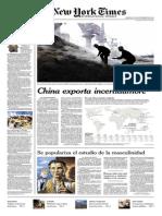 new york times español 6 setiembre de 2015