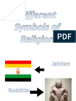 Different Symbols of Religion