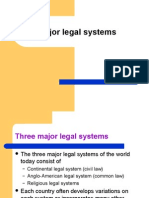 Major Legal Systems
