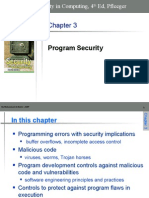 Chapter 3 - Program Security