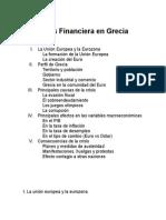 Crisis Financiera en Grecia