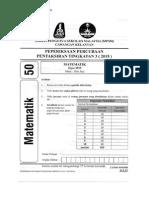 PT3 Kelantan Math