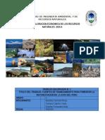 Fuentes de Financiamiento Para La Reforestacion