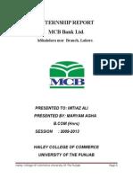 MCB Bank Ltd