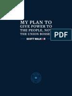 Walker's Union Proposal