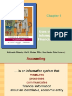 Uses of Accounting Information and the Financial