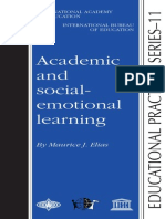 academic and social-emotional learning by Maurice J. Elias