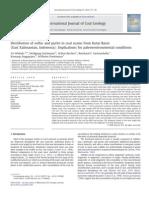 Distribution of Sulfur and Pyrite in Coal Seams From Kutai Basin