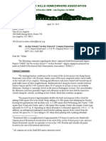 2014 04 29 Brentwood Hills Homeowners Association Letter