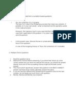 Law Exam Tips