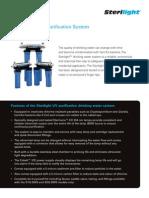 Sterilight drinking water system