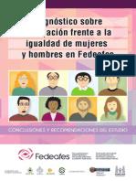 Fedeafes Folleto Empoderamiento Mujeres Recomendaciones Conclusiones